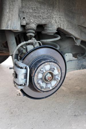 braking: repairs to the braking system of the car