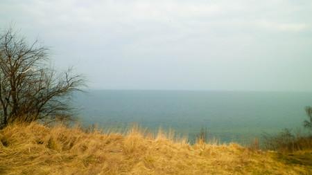 Baltic Sea coast during winter in Mechelinki, Poland. Copy space, nature concept. 版權商用圖片 - 106976344