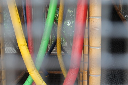 Steel grey blurry nets with wire on background for web site or mobile devices