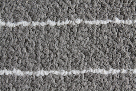 Textured fabric grey background with white lines for web site or mobile devices