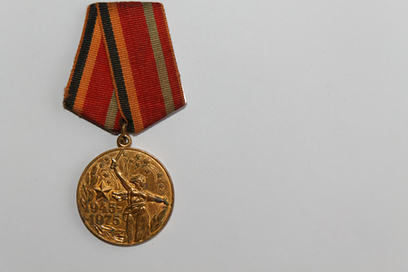 Soviet medal for 30 years of the victory Second World War