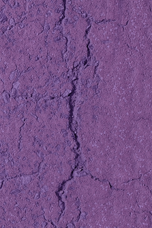 Purple Aged cement wall texture, cracked rock background, rough surface