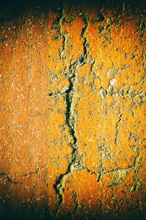 Aged cement wall texture, cracked rock background, rough surface