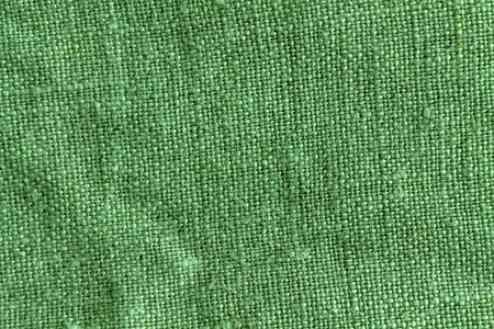 Green Linen natural texture or background for web site or mobile devices. Imagens
