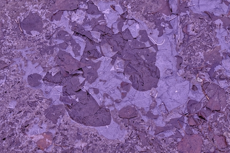 Mud texture or wet Ballet slipper colored soil as natural organic clay and geological sediment mixture as in roughing it
