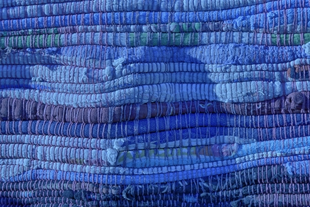 Ultra marina High detailed textile texture as background, fabric surface for web site or mobile devices.