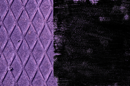 Dirty grunge Ultra purple Stainless steel texture, iron background for designer use. Stock Photo