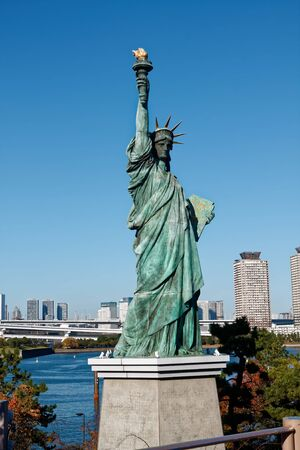 Statue of Liberty in Tokyo, Lady liberty in Japan.