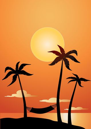 caribe: caribe sunset