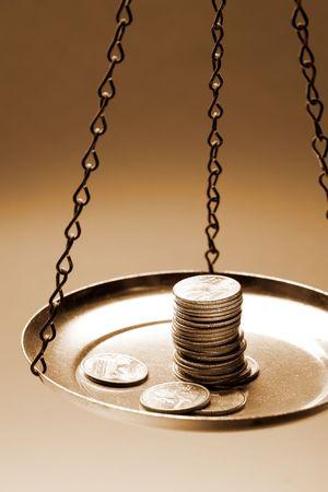balanza en equilibrio: Saldo Escala