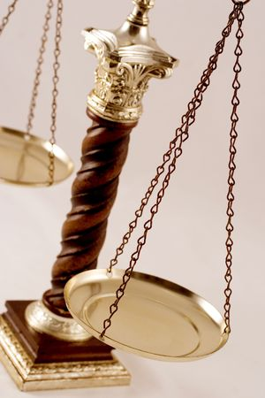 justice court: Balance scale