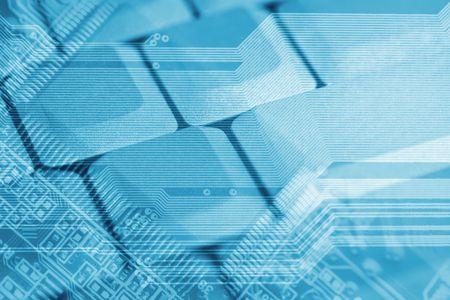 high tech: High tech background Stock Photo