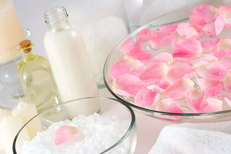 Rose petal spa photo