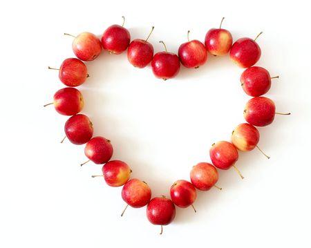 Apple heart photo