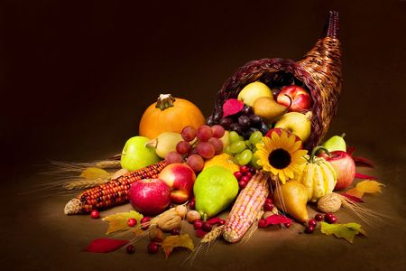 Autumn Cornucopia Stock Photo - 585007