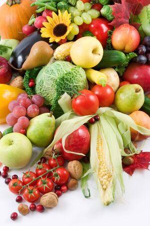 Obst und Gemüse  Standard-Bild - 616996