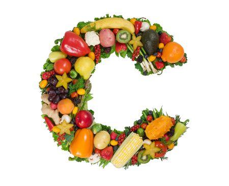 fruta tropical: Alfabeto de la Salud - C