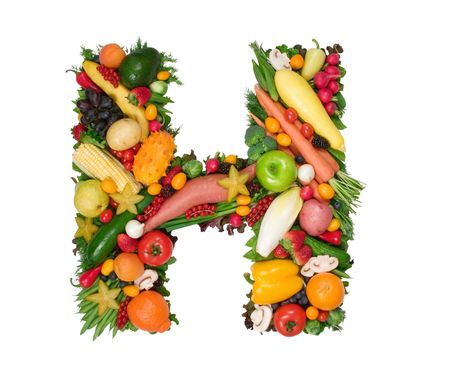 root vegetable: Alphabet of Health - H