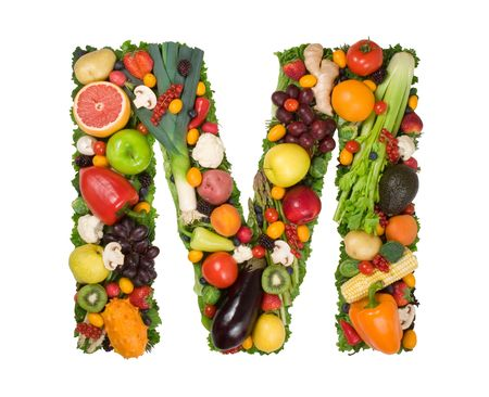 Alphabet of Health - M photo
