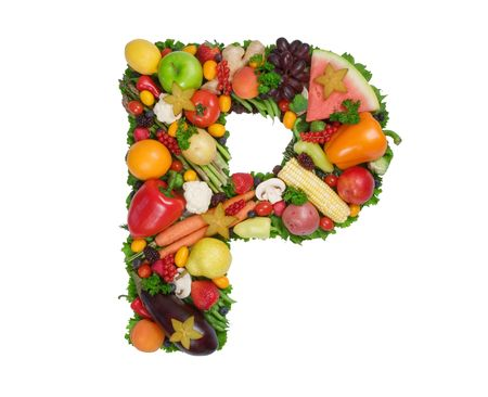 Alphabet of Health - P photo