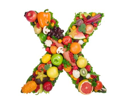 Alphabet of Health - X photo