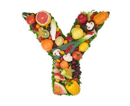 root vegetable: Alphabet of Health - Y