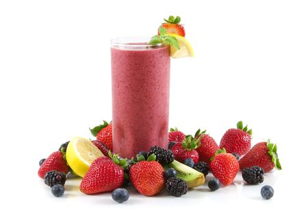 fruit smoothie: Berry smoothie