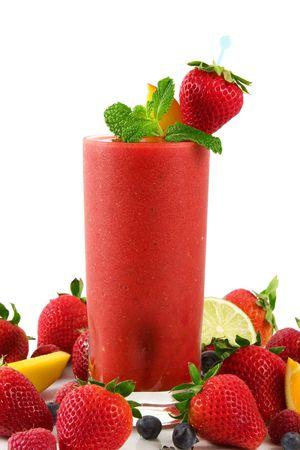 erdbeer smoothie: Erdbeere Smoothie
