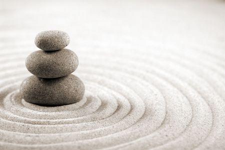 zen garden: Balance