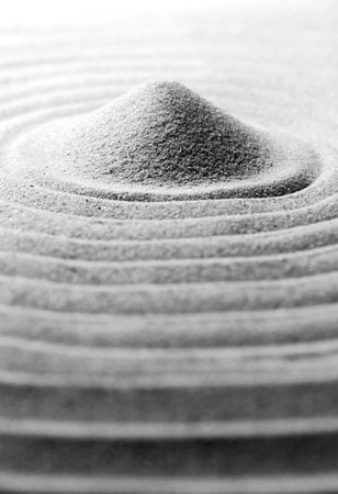 eastern philosophy: Sand Stock Photo