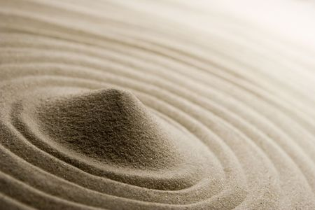 ancient philosophy: Sand Stock Photo