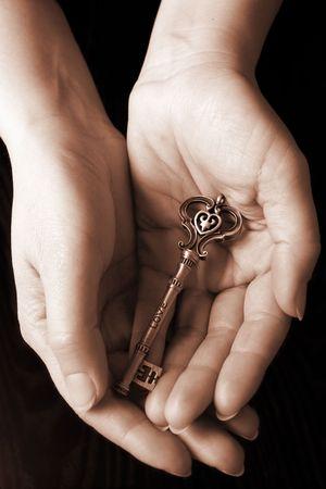 key words: The key of love