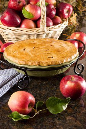 szarlotka: Apple pie Zdjęcie Seryjne