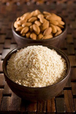 gluten free: Almond flour