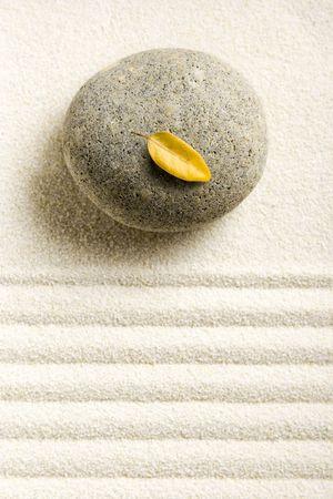 raked: Zen still life