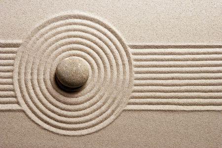 sand stone: Zen garden