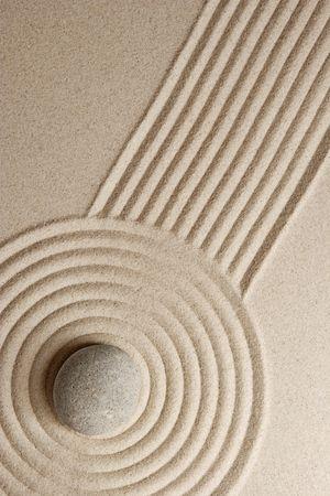 raked: Zen garden