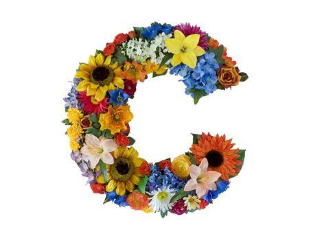 Flower Alphabet - C Imagens