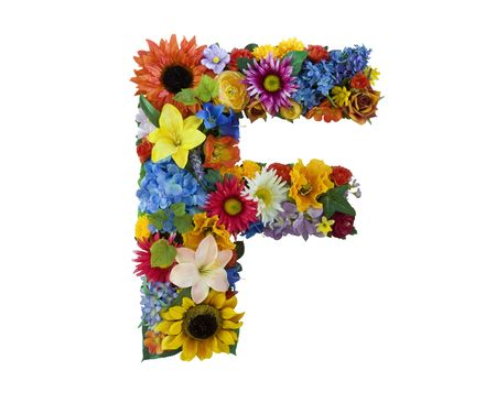 Flower Alphabet - F photo