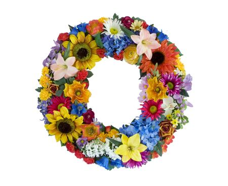Flower Alphabet - O Imagens
