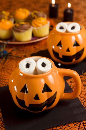 Halloween hot chocolate photo