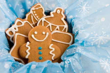 gingerbread: Gingerbread cookies  Stock Photo