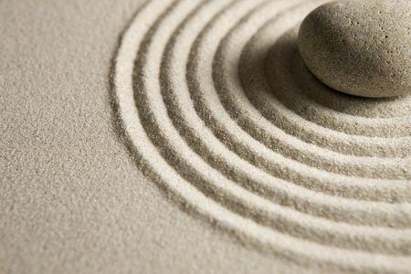 Zen stone 版權商用圖片 - 4153673