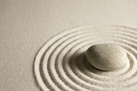 circle shape: Zen stone