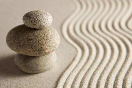 stack stones: Balance