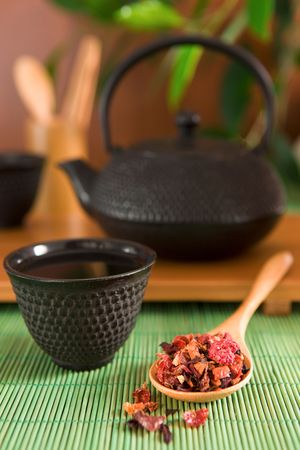 Fruit tea photo