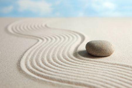 sand stone: Zen stone