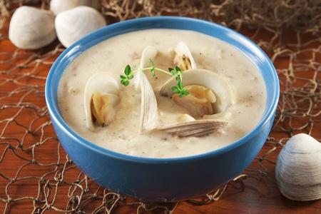 clams: Clam chowder