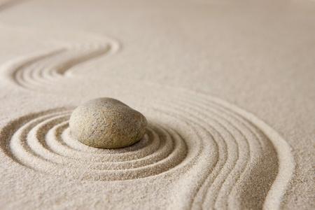dry stone: Zen garden