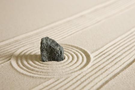 zen garden: Mini zen garden